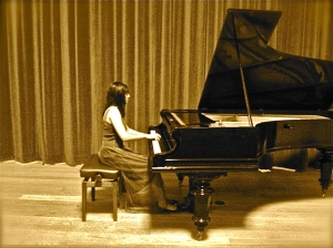 Piano Recital, Oxford University